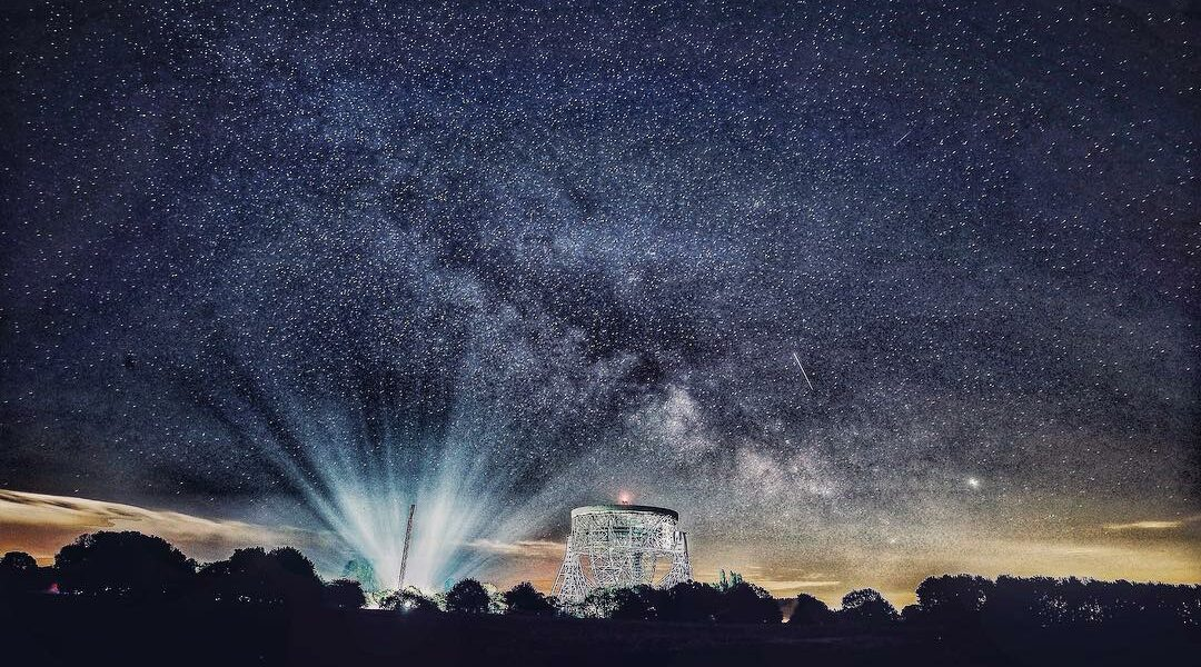 Stars and the Milky Way are seen over the Lovell Telescope at Jodrell Bank Observatory in Cheshire. . ??Peter Byrne/PA Images - see more at paimages.co.uk. . . . . . . . . #stars #milkyway #longexposure #starphotography #jodrellbankobservatory #jodrellbank #lovelltelescope #instagood #instadaily #dailypic #picoftheday #photooftheday #potd #bestoftheday #photography