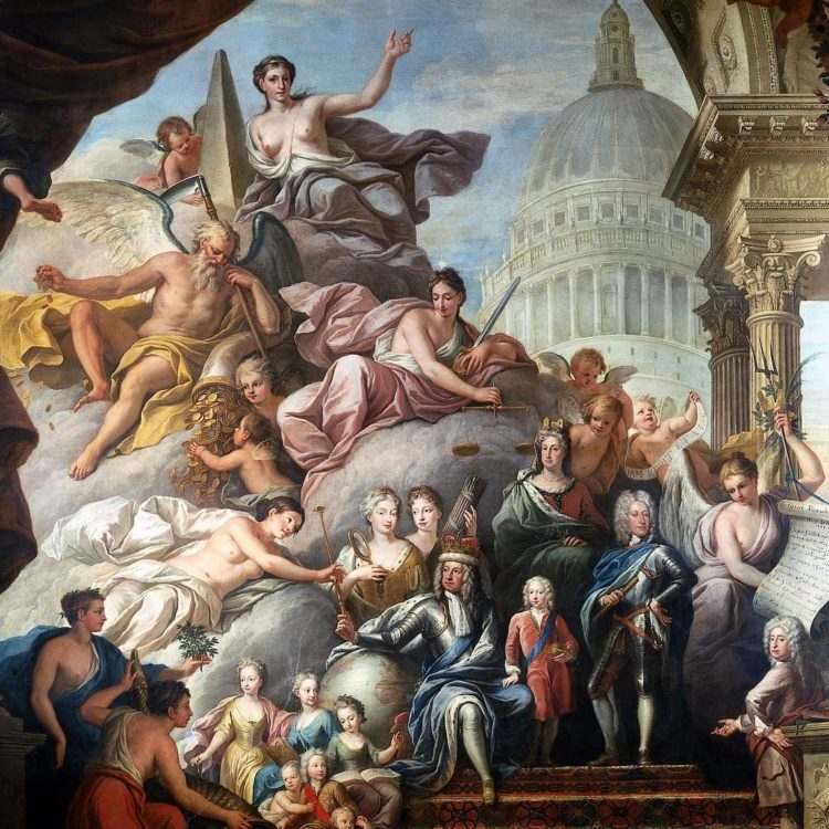 #ChapterI - How do you conserve a 4,000 sq m Baroque painting at the same time as allowing the public unprecedented access to the project? Will Palin, Conservation Director at ORNC, will reveal some of the secrets of this painstaking 2-year project.  Join us at the @sciencemuseum on Wednesday 27 March for the #SMLates to learn more about the incredible and varied work #UNESCOintheUK has been supporting at @greenwhich. Get your tickets in the bio. #London #Sciencemuseum #Greenwhich #MaritimeGreenwich 1worldheritagesite #worldheritageuk #worldheritage #worldheritageeu #unesco #painting #art #restauration #artrestaurantion #baroque #oldroyalnavalcollege